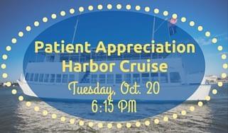 Patient Appreciation Harbor Cruise